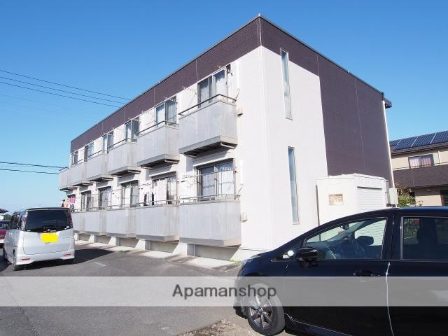茨城県潮来市、潮来駅徒歩28分の築9年 2階建の賃貸アパート