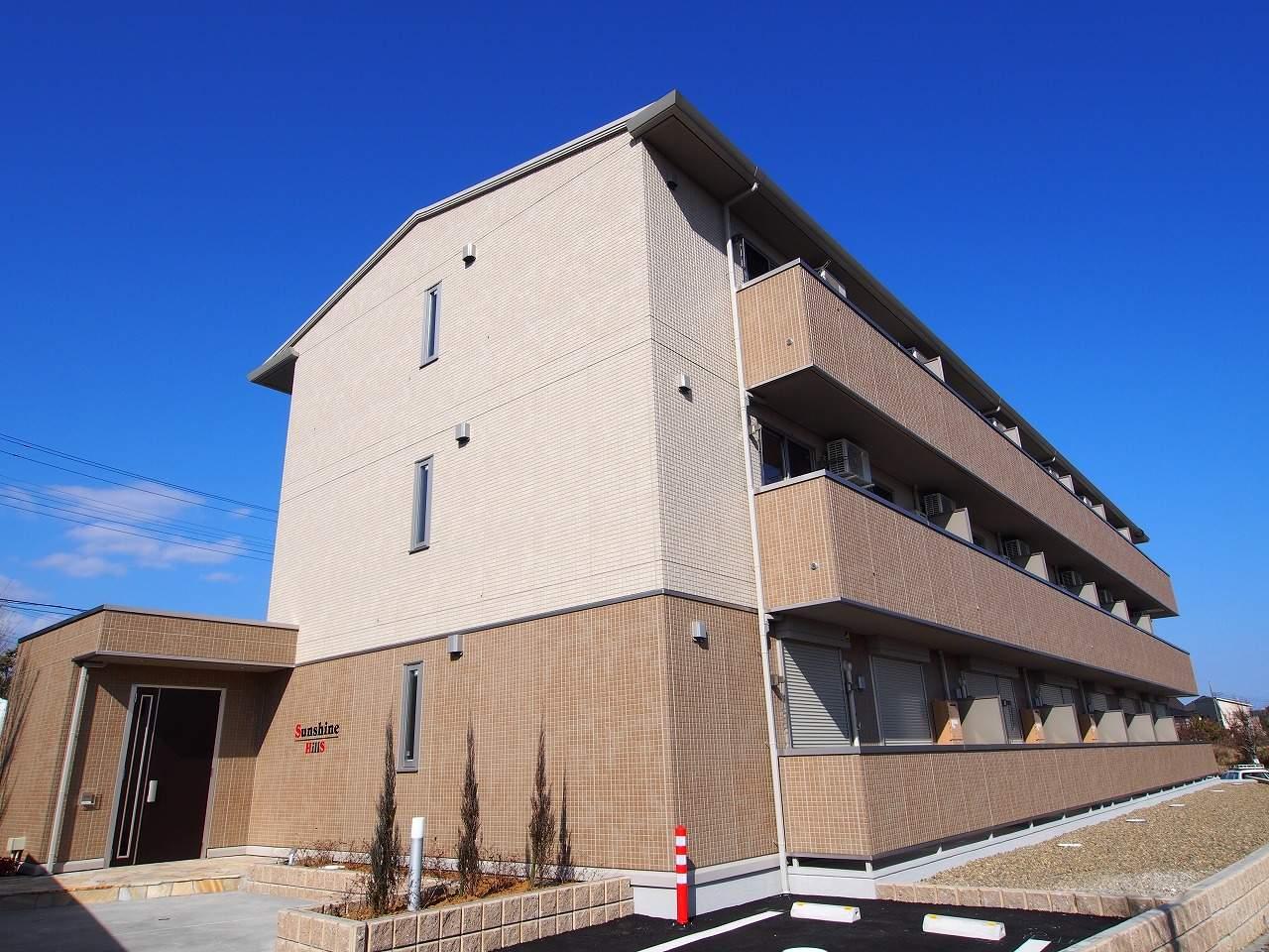 茨城県鹿嶋市、鹿島神宮駅徒歩14分の築2年 3階建の賃貸アパート