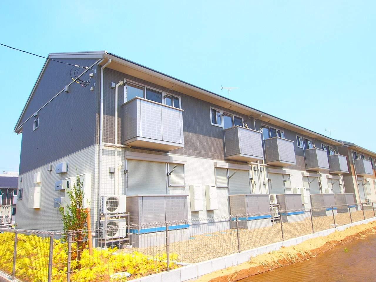茨城県神栖市、鹿島神宮駅バス32分鹿島セントラルホテル下車後徒歩38分の築1年 2階建の賃貸アパート