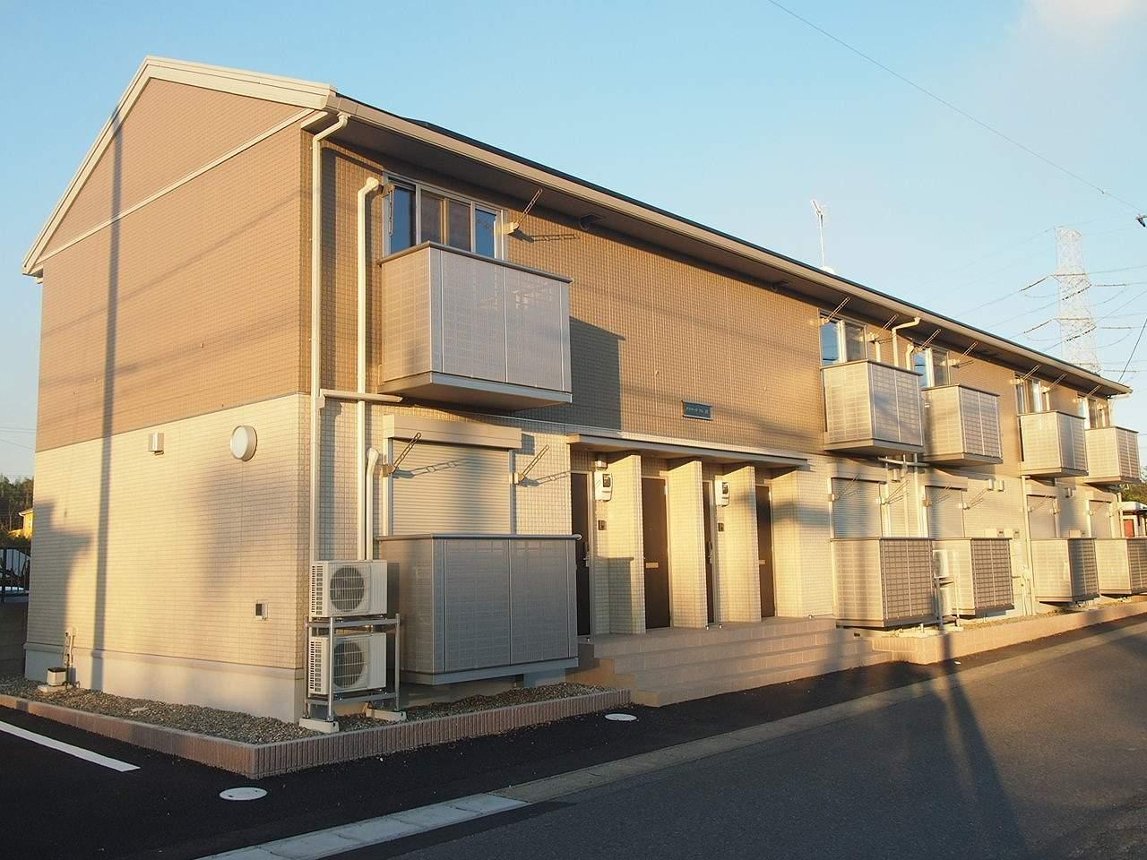 茨城県鹿嶋市、鹿島神宮駅徒歩64分の築2年 2階建の賃貸アパート