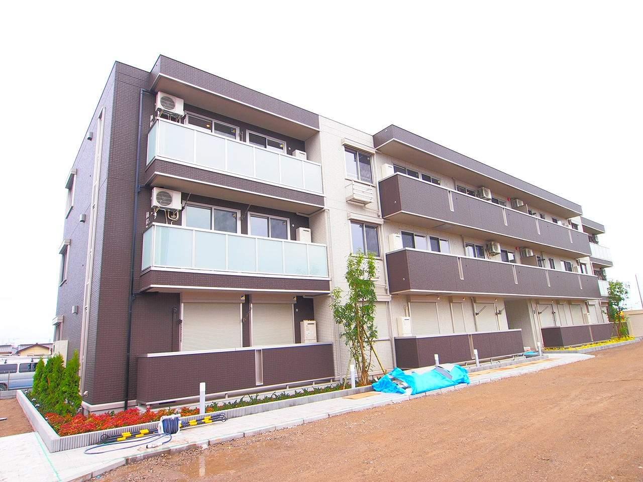 茨城県神栖市の築1年 3階建の賃貸アパート