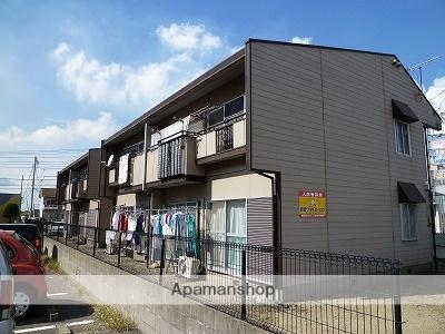 茨城県神栖市、鹿島神宮駅バス30分セントラルホテル下車後徒歩28分の築30年 2階建の賃貸アパート