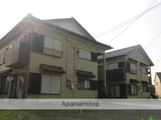 茨城県神栖市、鹿島神宮駅徒歩116分の築26年 2階建の賃貸アパート