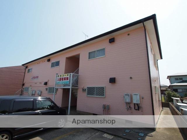 茨城県鹿嶋市、鹿島神宮駅徒歩85分の築26年 2階建の賃貸アパート