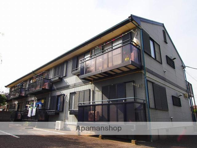 茨城県鹿嶋市、鹿島サッカースタジアム(臨)駅徒歩40分の築21年 2階建の賃貸アパート