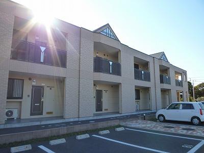 茨城県神栖市、笹川駅徒歩137分の築8年 2階建の賃貸アパート