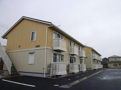 茨城県神栖市、鹿島神宮駅バス30分セントラルホテル下車後徒歩36分の築8年 2階建の賃貸アパート
