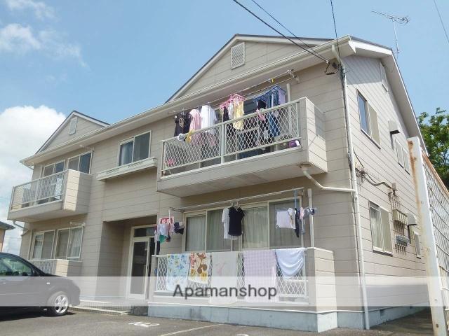 茨城県潮来市、潮来駅徒歩53分の築27年 2階建の賃貸アパート