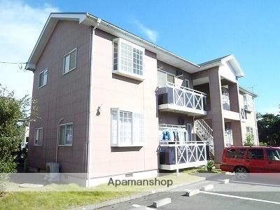 茨城県神栖市、銚子駅徒歩50分の築17年 2階建の賃貸アパート