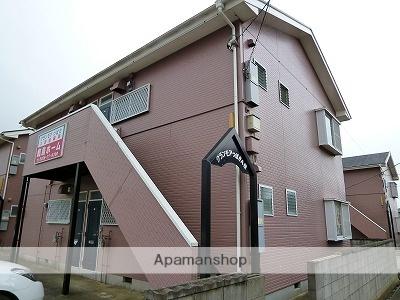 茨城県鹿嶋市、鹿島サッカースタジアム(臨)駅徒歩25分の築23年 2階建の賃貸アパート