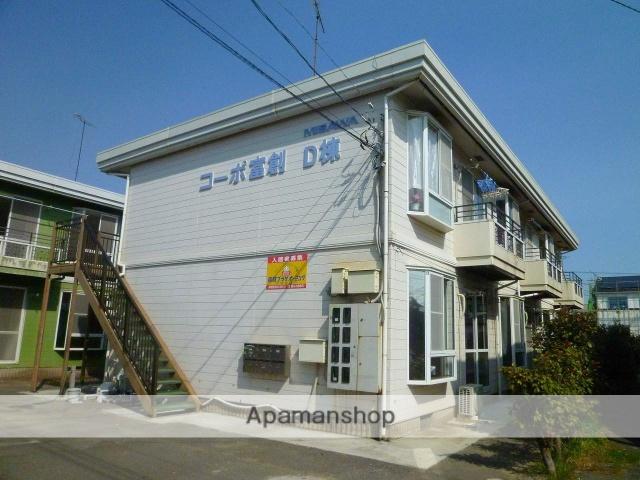 茨城県神栖市、小見川駅徒歩252分の築29年 2階建の賃貸アパート