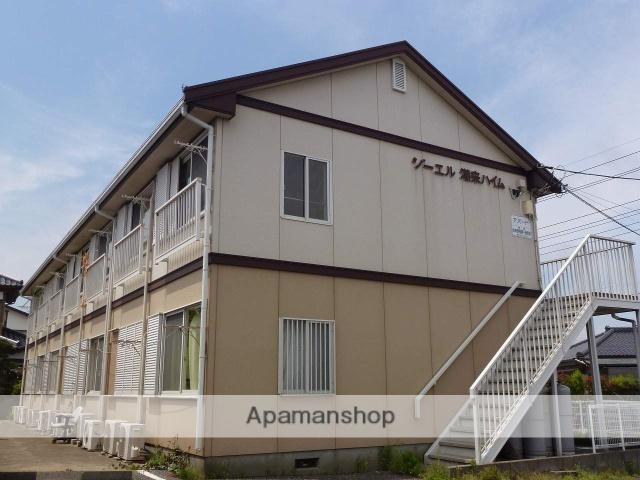 茨城県潮来市、潮来駅徒歩15分の築28年 2階建の賃貸アパート