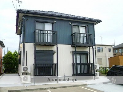 茨城県神栖市、小見川駅徒歩124分の築9年 2階建の賃貸アパート