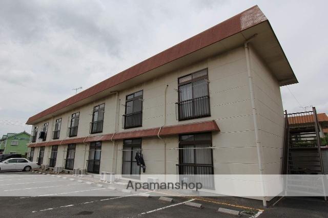 茨城県神栖市、鹿島神宮駅バス51分済生会病院下車後徒歩17分の築26年 2階建の賃貸アパート