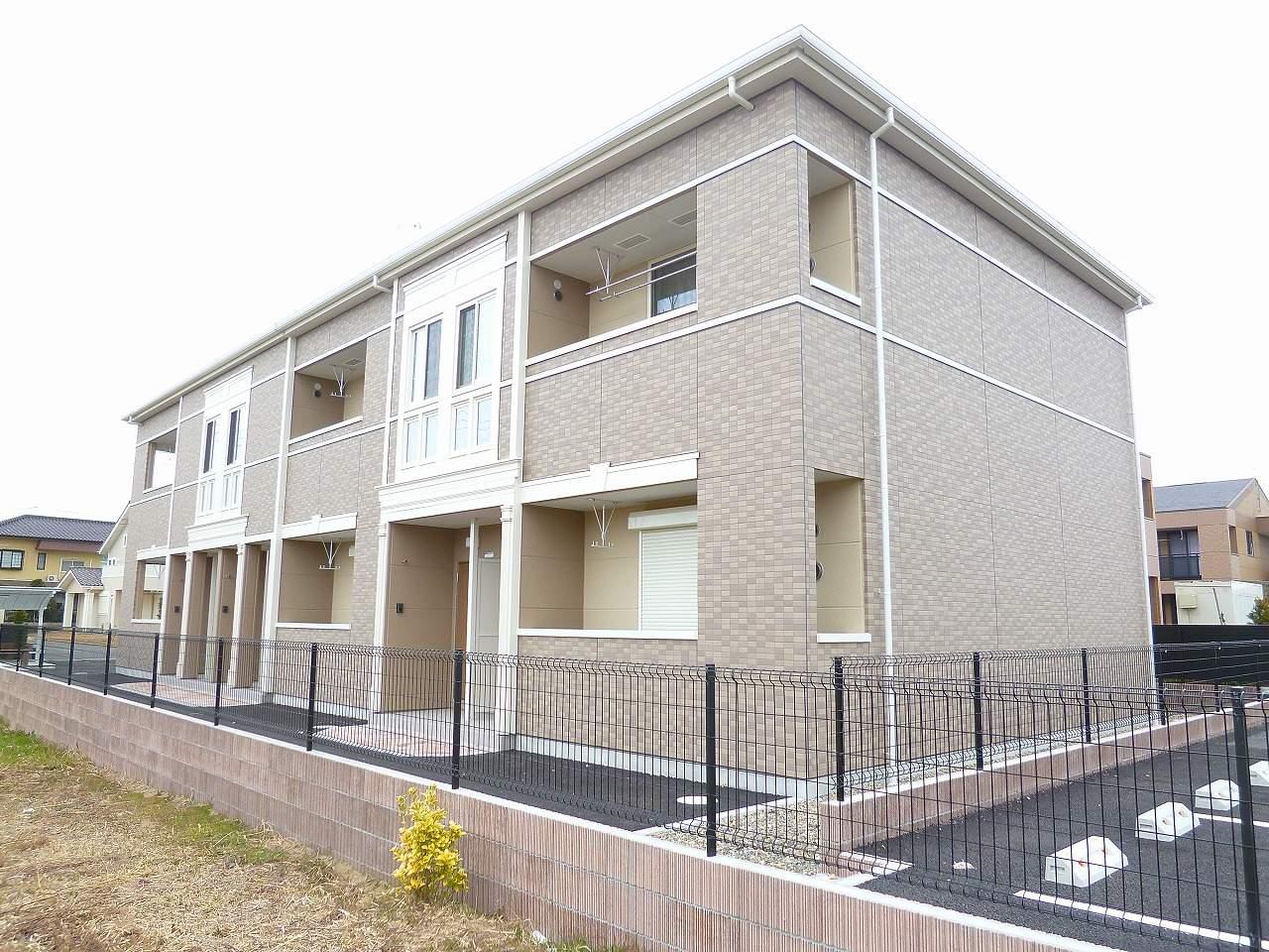 茨城県神栖市、松岸駅徒歩99分の築3年 2階建の賃貸アパート