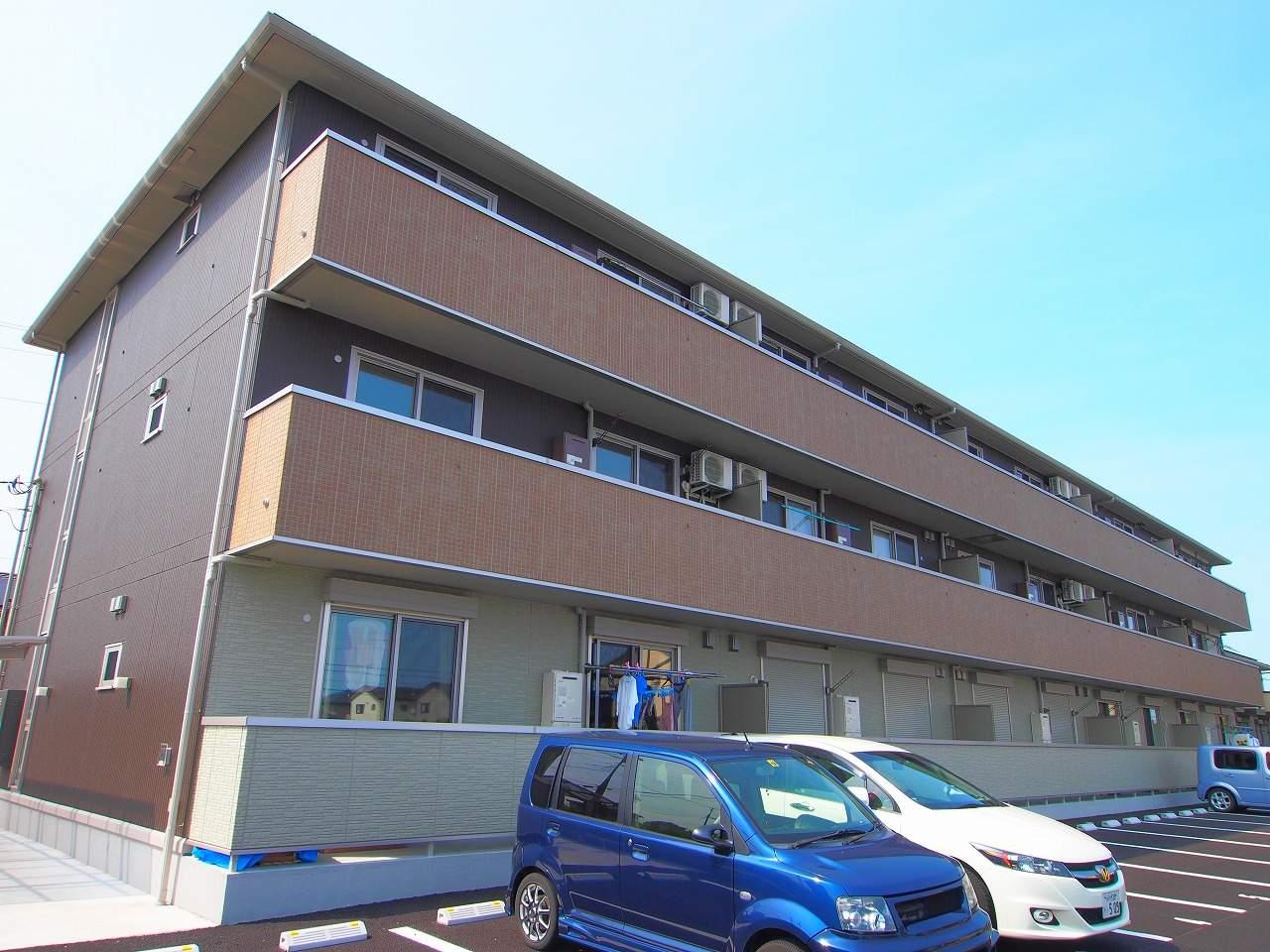 茨城県神栖市、銚子駅徒歩166分の築4年 3階建の賃貸マンション