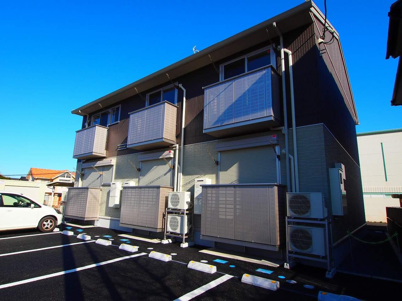 茨城県鹿嶋市、鹿島サッカースタジアム(臨)駅徒歩30分の築3年 2階建の賃貸アパート