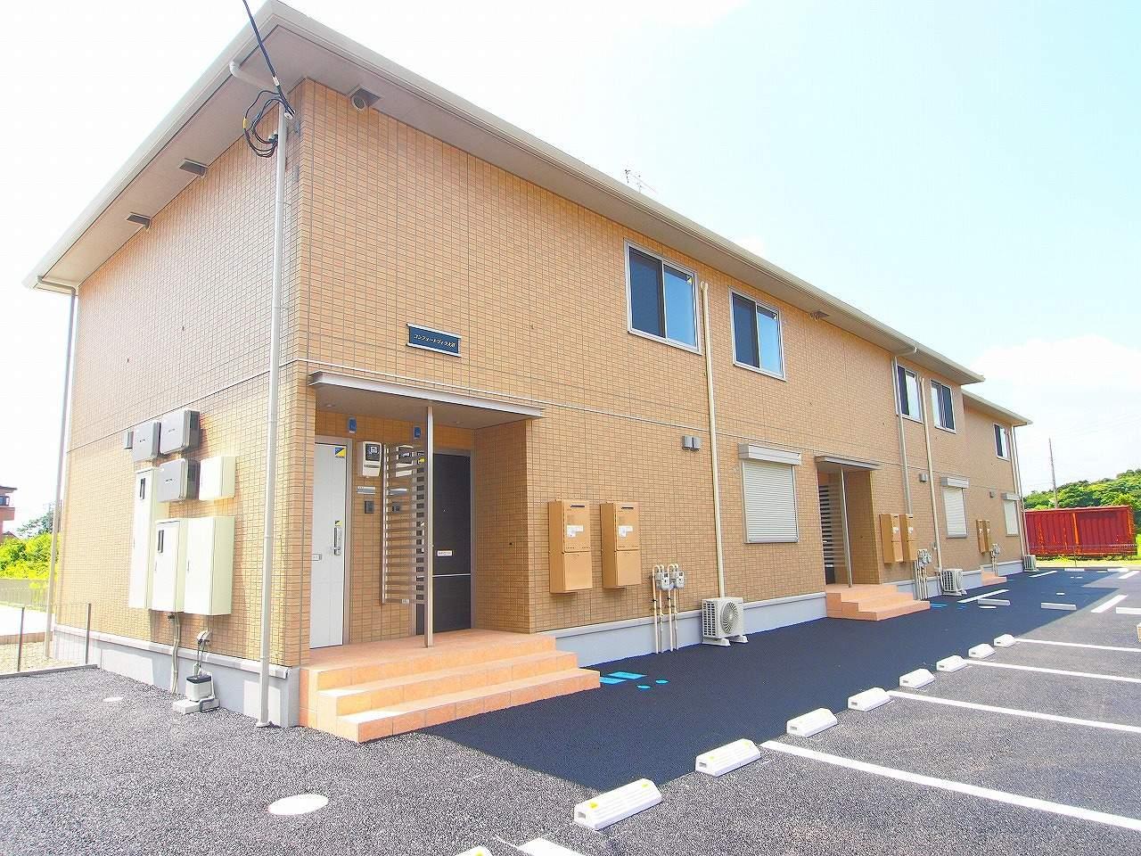 茨城県神栖市、小見川駅徒歩86分の築3年 2階建の賃貸アパート
