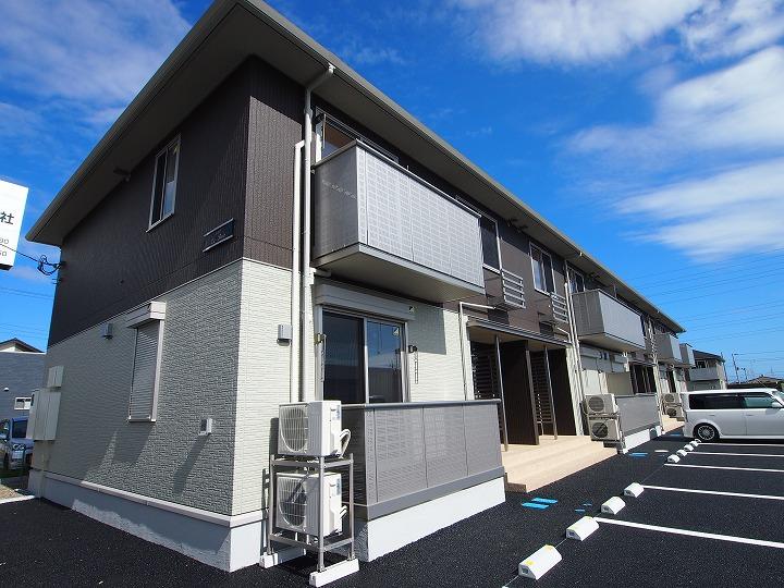 茨城県神栖市、笹川駅徒歩225分の築2年 2階建の賃貸アパート
