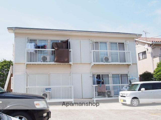 茨城県鹿嶋市、鹿島神宮駅徒歩47分の築25年 2階建の賃貸アパート
