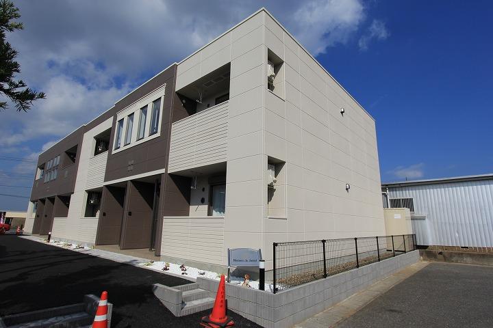 茨城県神栖市、潮来駅徒歩218分の築2年 2階建の賃貸アパート