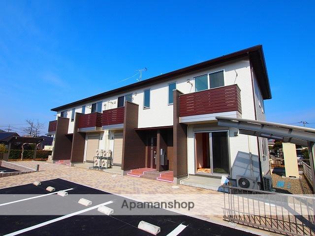 茨城県鹿嶋市、鹿島神宮駅徒歩24分の新築 2階建の賃貸テラスハウス
