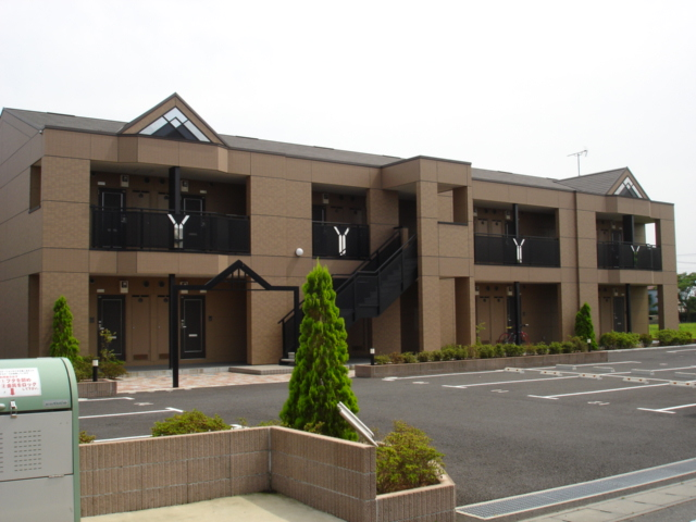 茨城県神栖市、鹿島神宮駅バス30分知手入口停下車後徒歩6分の築8年 2階建の賃貸アパート