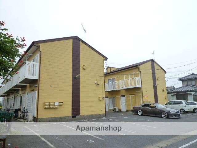 茨城県神栖市、水郷駅徒歩268分の築26年 2階建の賃貸アパート