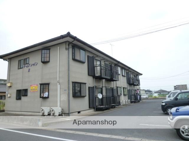 茨城県神栖市、小見川駅徒歩156分の築24年 2階建の賃貸アパート