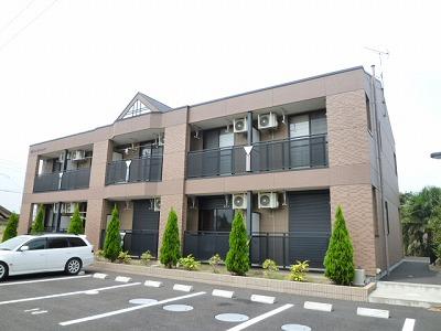 茨城県神栖市、笹川駅徒歩142分の築8年 2階建の賃貸アパート