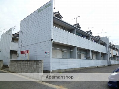 茨城県神栖市、鹿島神宮駅バス32分鹿島セントラルホテル下車後徒歩58分の築24年 2階建の賃貸アパート