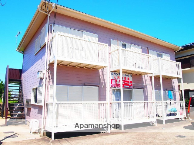 茨城県鹿嶋市、鹿島神宮駅徒歩67分の築27年 2階建の賃貸アパート