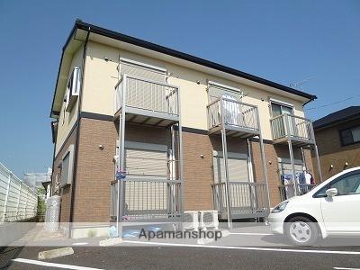 茨城県潮来市、潮来駅徒歩24分の築10年 2階建の賃貸アパート