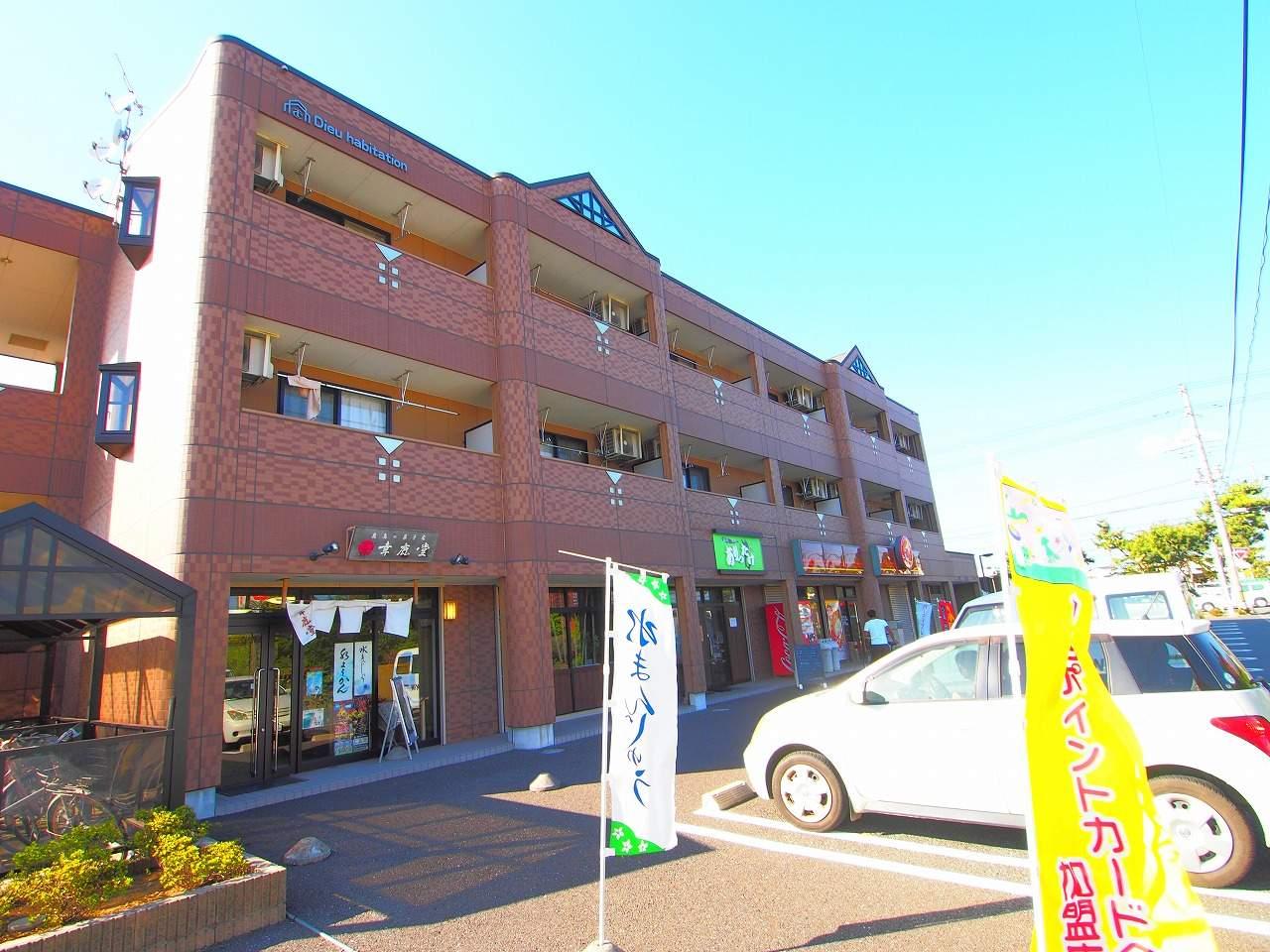 茨城県神栖市、水郷駅徒歩213分の築8年 3階建の賃貸アパート