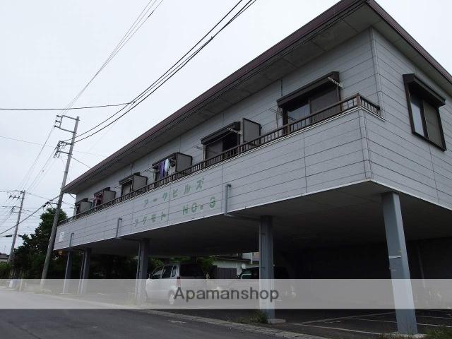 茨城県神栖市、水郷駅徒歩220分の築24年 2階建の賃貸アパート