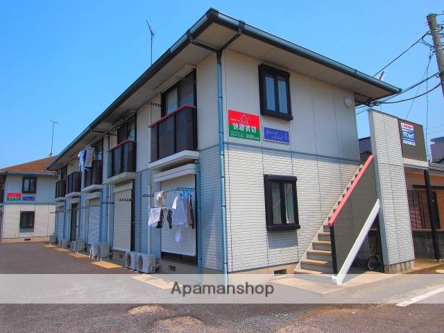 茨城県神栖市、小見川駅徒歩96分の築21年 2階建の賃貸アパート
