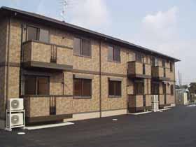 茨城県つくばみらい市、守谷駅関東鉄道バス15分豊体下車後徒歩5分の築13年 2階建の賃貸アパート