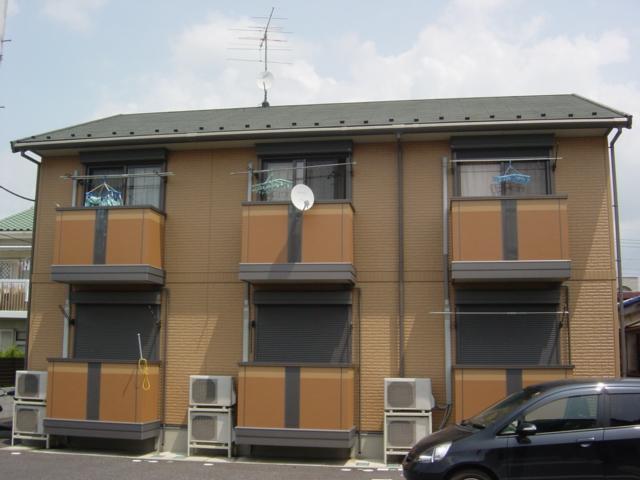 茨城県常総市、水海道駅徒歩4分の築11年 2階建の賃貸アパート