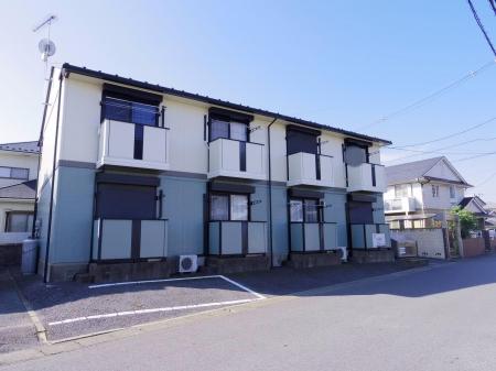 茨城県常総市、水海道駅徒歩4分の築18年 2階建の賃貸アパート