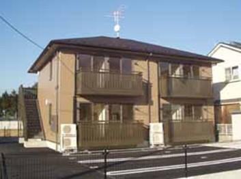 茨城県つくばみらい市の築11年 2階建の賃貸アパート