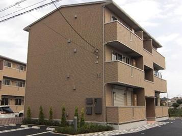 茨城県つくばみらい市、みらい平駅徒歩6分の築7年 3階建の賃貸アパート