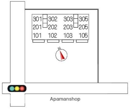 クレセール[3LDK/66.37m2]の配置図