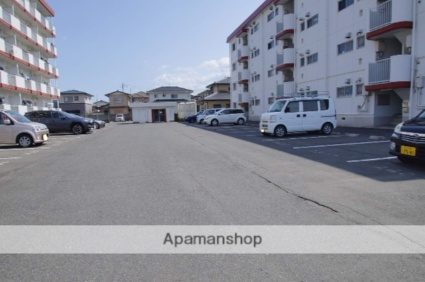 堂端コーポ A棟[2DK/44.55m2]の駐車場