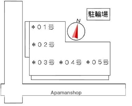 金上ハイツ[2DK/40.05m2]の配置図