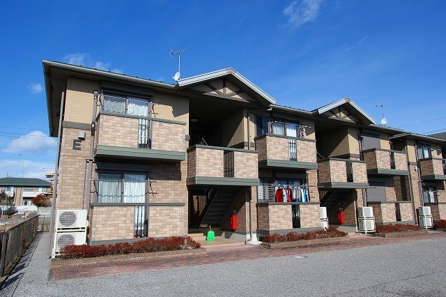 栃木県宇都宮市の築12年 2階建の賃貸アパート