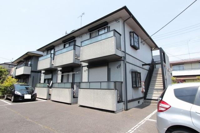 栃木県宇都宮市、宇都宮駅徒歩15分の築21年 2階建の賃貸アパート