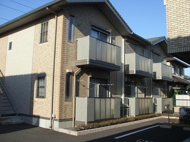 栃木県宇都宮市の築10年 2階建の賃貸アパート