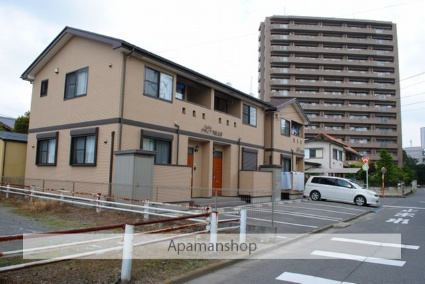 栃木県宇都宮市、宇都宮駅関東バスバス20分中央警察署前下車後徒歩3分の築8年 2階建の賃貸アパート