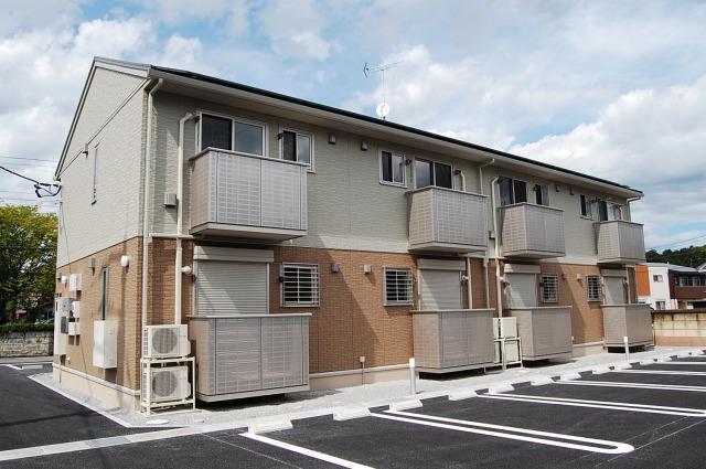 栃木県宇都宮市、宇都宮駅バス24分文星大学前下車後徒歩2分の新築 2階建の賃貸アパート