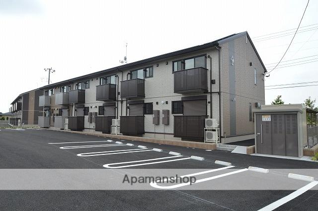 栃木県宇都宮市、宇都宮駅JRバスバス56分野高谷下車後徒歩11分の新築 2階建の賃貸アパート